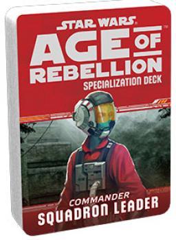 Star Wars Age of Rebellion RPG Specialization Deck - Squadron Leader
