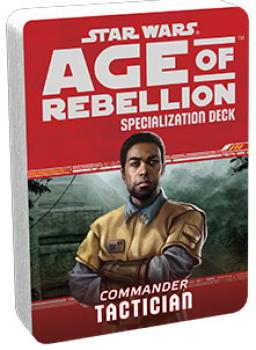 Star Wars Age of Rebellion RPG Specialization Deck - Tactician