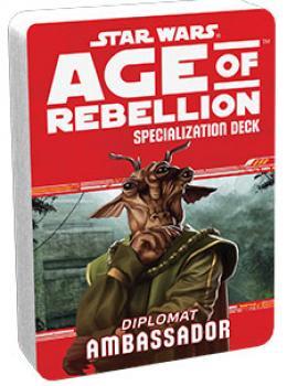 Star Wars Age of Rebellion RPG Specialization Deck - Ambassador