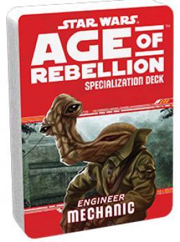 Star Wars Age of Rebellion RPG Specialization Deck - Mechanic