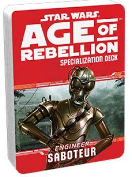Star Wars Age of Rebellion RPG Specialization Deck - Saboteur