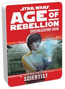 Star Wars Age of Rebellion RPG Specialization Deck - Scientist