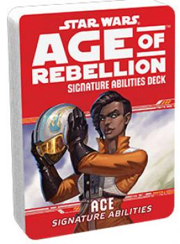 Star Wars Age of Rebellion RPG Specialization Deck - Ace Signature Abilities Deck
