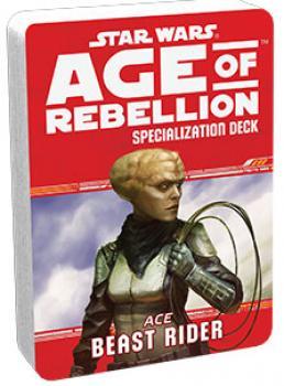 Star Wars Age of Rebellion RPG Specialization Deck - Beast Rider