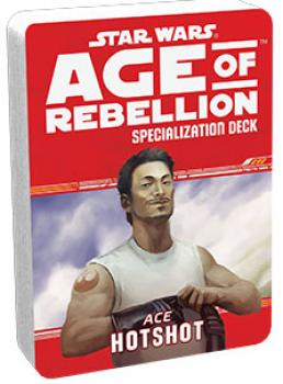Star Wars Age of Rebellion RPG Specialization Deck - Hotshot