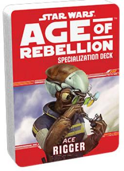 Star Wars Age of Rebellion RPG Specialization Deck - Rigger