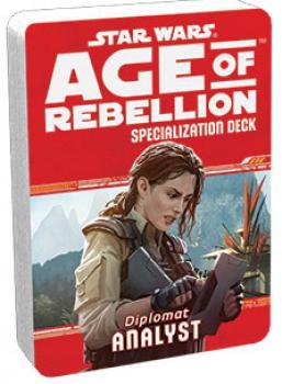 Star Wars Age of Rebellion RPG Specialization Deck - Analyst