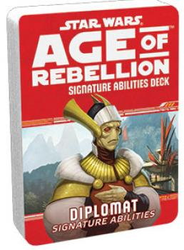 Star Wars Age of Rebellion RPG Specialization Deck - Diplomat