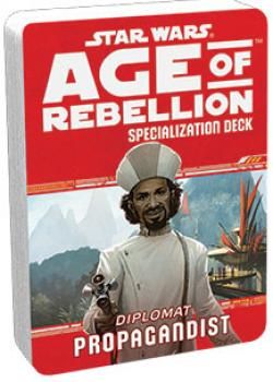 Star Wars Age of Rebellion RPG Specialization Deck - Propagandist