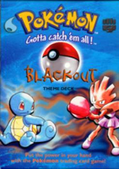 Pokemon preconstructed deck BLACKOUT