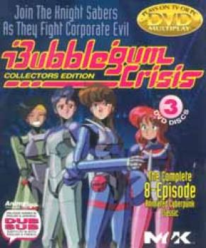 Bubblegum Crisis Collection complete 8 episode DVD set