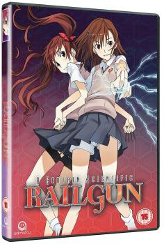 A Certain Scientific Railgun Complete Season 01 DVD UK