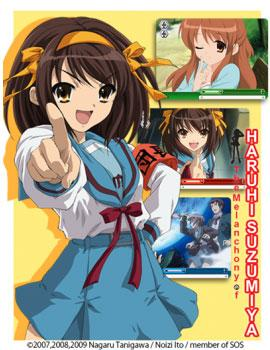 Weiß Schwarz Trading card game - The Melancholy of Haruhi Suzumiya Booster pack - EN