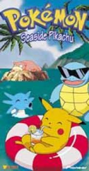 Pokemon vol 6 Seaside pikachu DVD