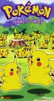 Pokemon vol 12 Pikachu party DVD
