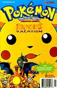 Pokemon The first movie Pikachus vacation