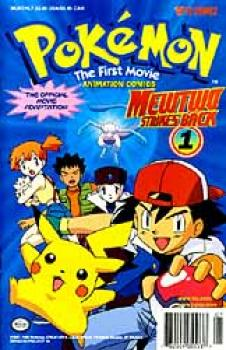 Pokemon The first movie Mewtwo strikes back 1