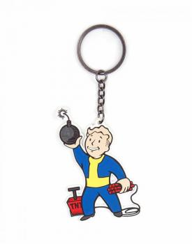 FALLOUT 4 KEYCHAIN - EXPLOSIVES SKILL