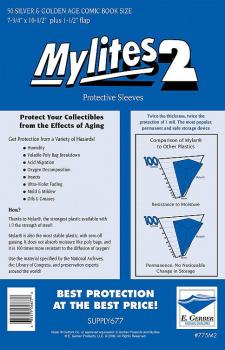 MYLITES 2 SILVER GOLD (SOLD IN PACKS OF 50)