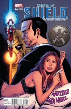AGENTS OF SHIELD #2 SEELY VAR