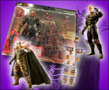 Fist of the North star action figures Kaioh