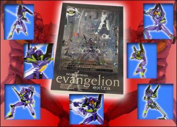 Neon genesis evangelion EVA unit 01 EX figure