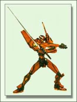 Neon genesis evangelion EVA unit 02 Repaint figure