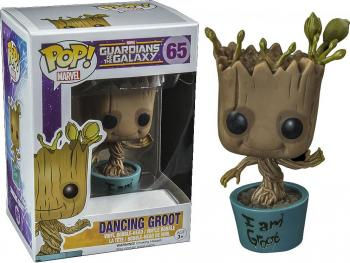 GUARDIANS OF THE GALAXY POP VINYL FIGURE - I AM DANCING GROOT (LIMITED EDITION)