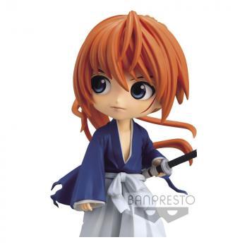 Rurouni Kenshin Q Posket Mini Figure - Himura Battousai Ver. A