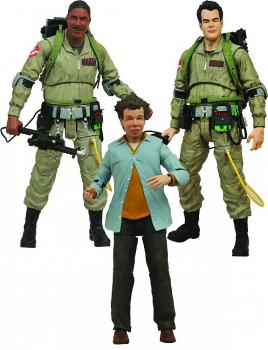 GHOSTBUSTERS SELECT ACTION FIGURE - RAY STANZ