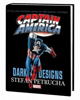 Captain America: Dark Designs Prose Novel (Hardcover)