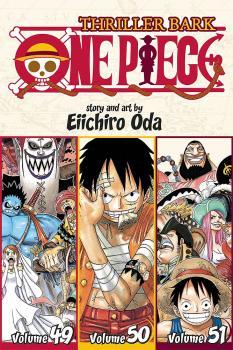 One piece Omnibus vol 17 (49-50-51) Thriller Bark GN Manga