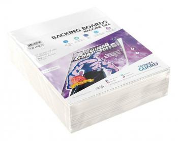 ULTIMATE GUARD COMIC BACKING BOARDS MAGAZINE SIZE (100)
