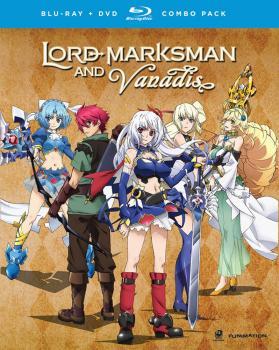 Lord Marksman & Vanadis Complete Series Blu-Ray/DVD Combo