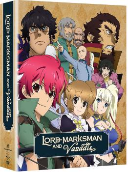 Lord Marksman & Vanadis Complete Series Limited Edition Blu-Ray/DVD Combo