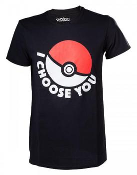 POKEMON T-SHIRT I CHOOSE YOU SIZE XS