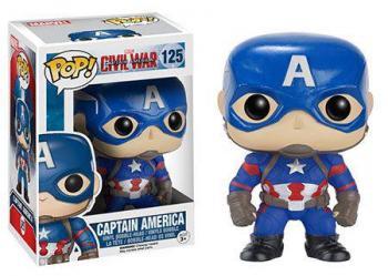 CAPTAIN AMERICA 3 CIVIL WAR POP VINYL FIGURE - CAPTAIN AMERICA