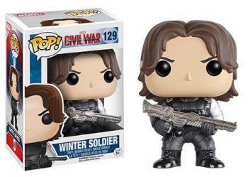 CAPTAIN AMERICA 3 CIVIL WAR POP VINYL FIGURE - WINTER SOLDIER
