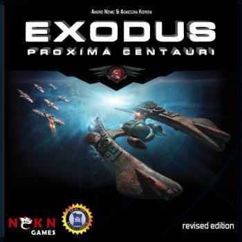 Exodus Board Game - Core Set Proxima Centauri - English