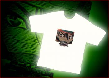 Bubblegum Crisis 2040 Eyes T-shirt XXL