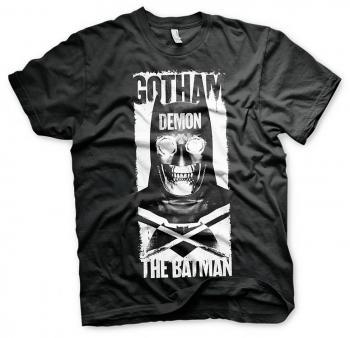 BATMAN V SUPERMAN GOTHAM DEMON T-SHIRT BLACK SIZE S