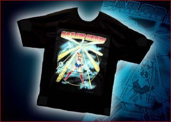 Sailor moon beaming T-shirt XL