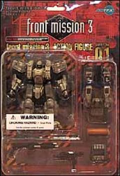 Front mission 3 series I action figures 01 Zenislev