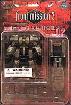 Front mission 3 series I action figures 02 Kyojun MK 107