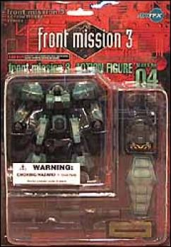 Front mission 3 series I action figures 04 Drake M2C