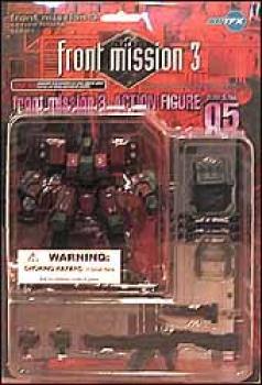 Front mission 3 series I action figures 05 Grezex