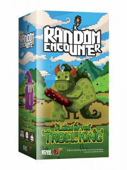 Random Encounter Card Game - English