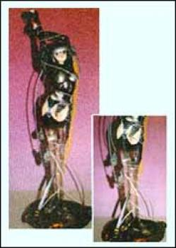 Ghost in the shell Resin statue Sea of wires clear