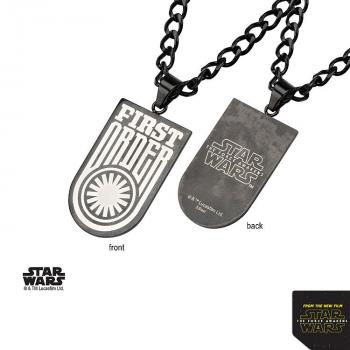 STAR WARS JEWELRY - DOG TAG FIRST ORDER