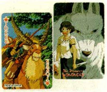 Princess Mononoke playing cards 1